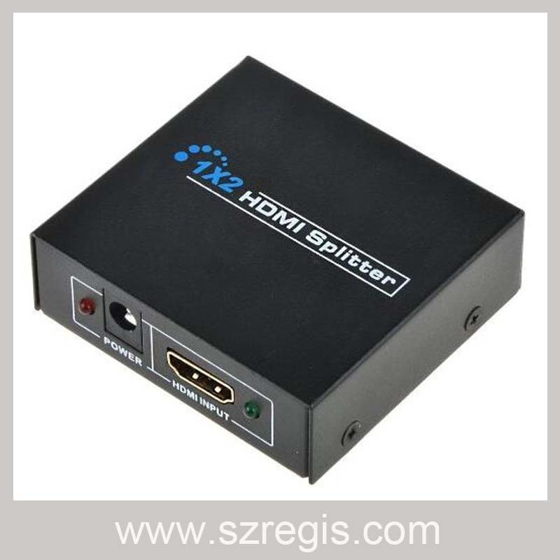 1X2 HDMI Splitter Support 1080P / 1920X1200