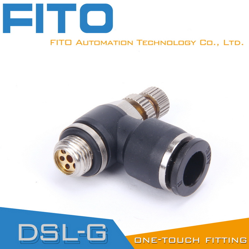 SL Speed Controller Pneumatic Fittings by Airtac Type Air Conncetor