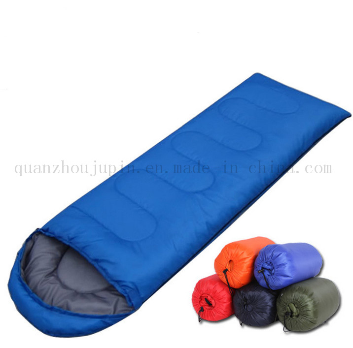 OEM Warm Water Proof Outdoor Camp Sleeping Bag with Hat