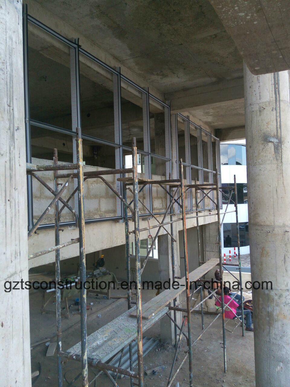 Glass Curtain Wall Aluminum Curtain Wall for Africa