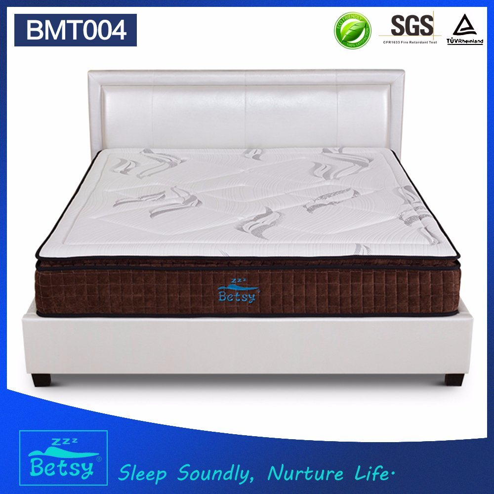OEM Resilient Pocket Spring Mattress 27cm with 5 Zone Pocket Spring and Relaxing Memory Foam