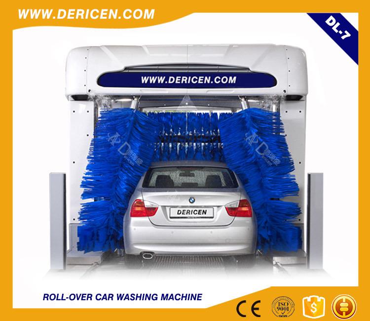 Dl7 Tunnel Smart Car Washing Machine Tunnel Fully Automatic