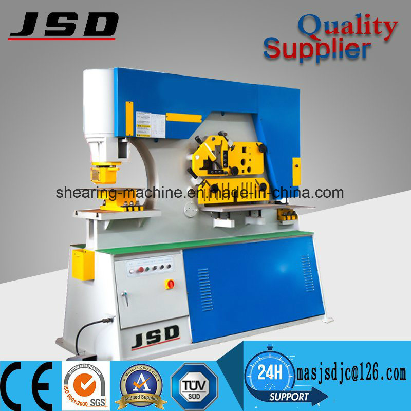 Jsd Q35y-20 Multi-Function Ironworker