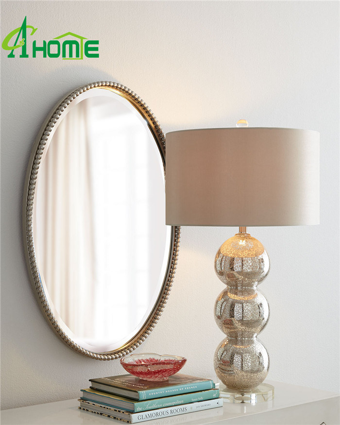 Specail Design Oval Shaped Decorative Wall Mirror