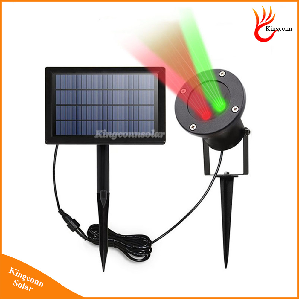 Outdoor Solar Garden Light IP65 Solar Laser Light Landscape Lamp for Garden Yard Christmas Holiday Decoration LED Spotlight Star Projector