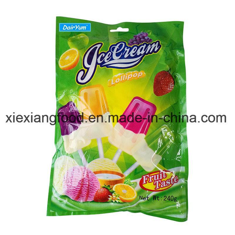 Ice Cream Lollipop with Light Pop