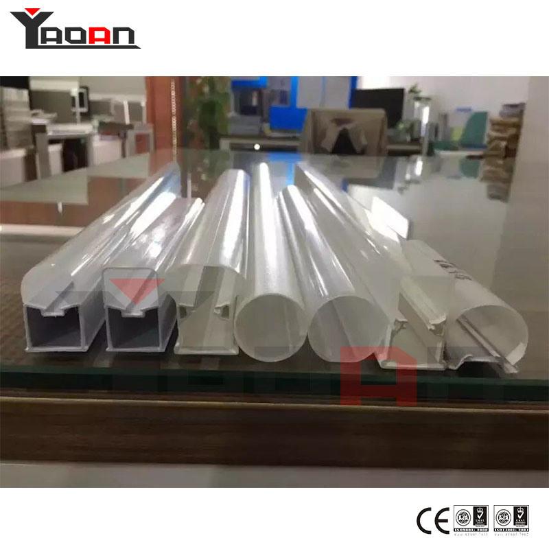 Single Double Colors PC LED Tube Light Housing Extrusion Machine