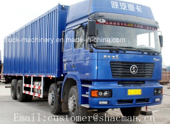 F2000 8X4 Shacman Cargo Truck 380HP Wei Chai Engine