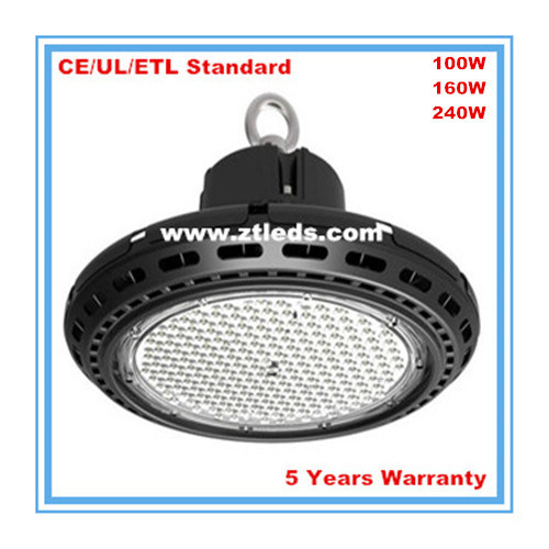 6000k UFO LED High Bay Light for Shopping Mall/Mine/Factory/Exhibition