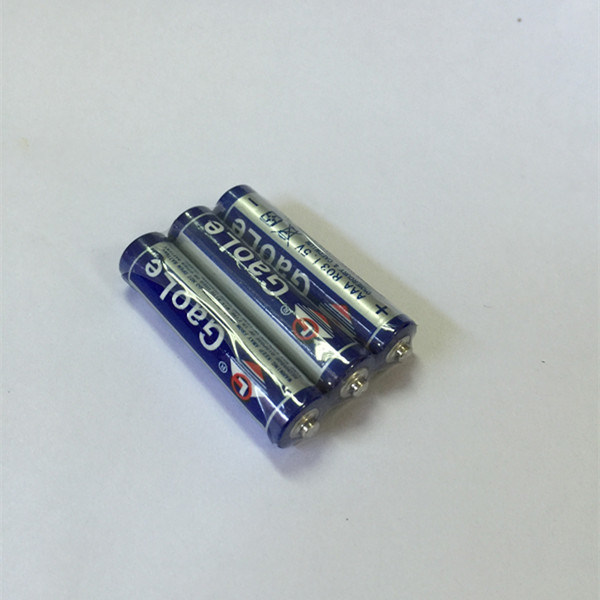Super Heavy Duty AAA 1.5V R03 Dry Battery (Um4)