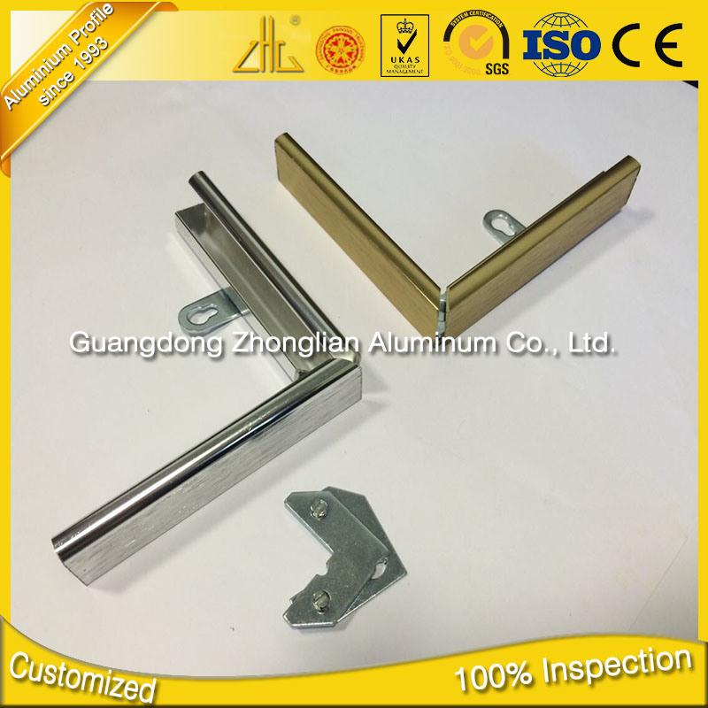 6063 T5 Aluminium Extrusion Wholesalers Aluminum Frame for Pictures