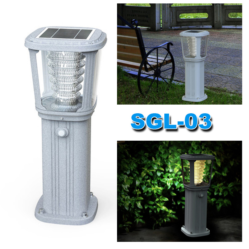 Integrated Solar Garden LED Outdoor Wall Light Solar Product Factory
