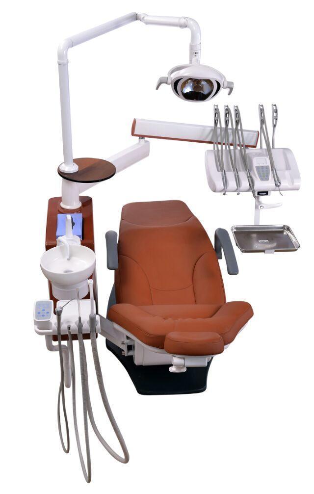 Multifunctional Dental Equipment Dental Chair with LED Lamp (KJ-916)