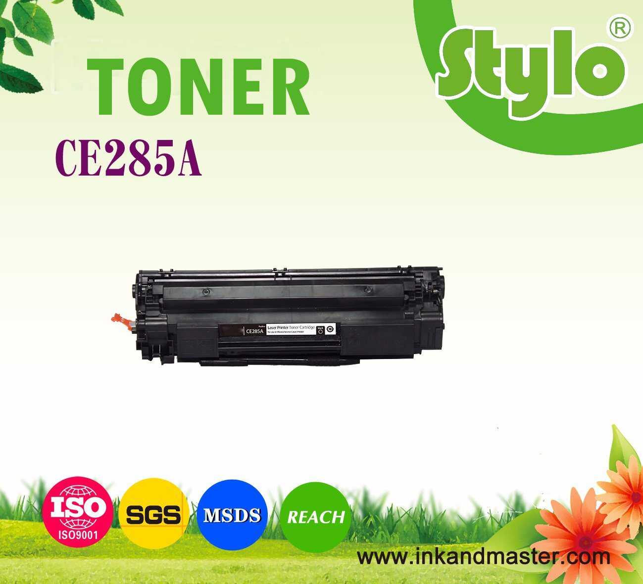 Ce285A, 85A, 285A, Laser Black Toner Cartridge for HP Laserjet Printer