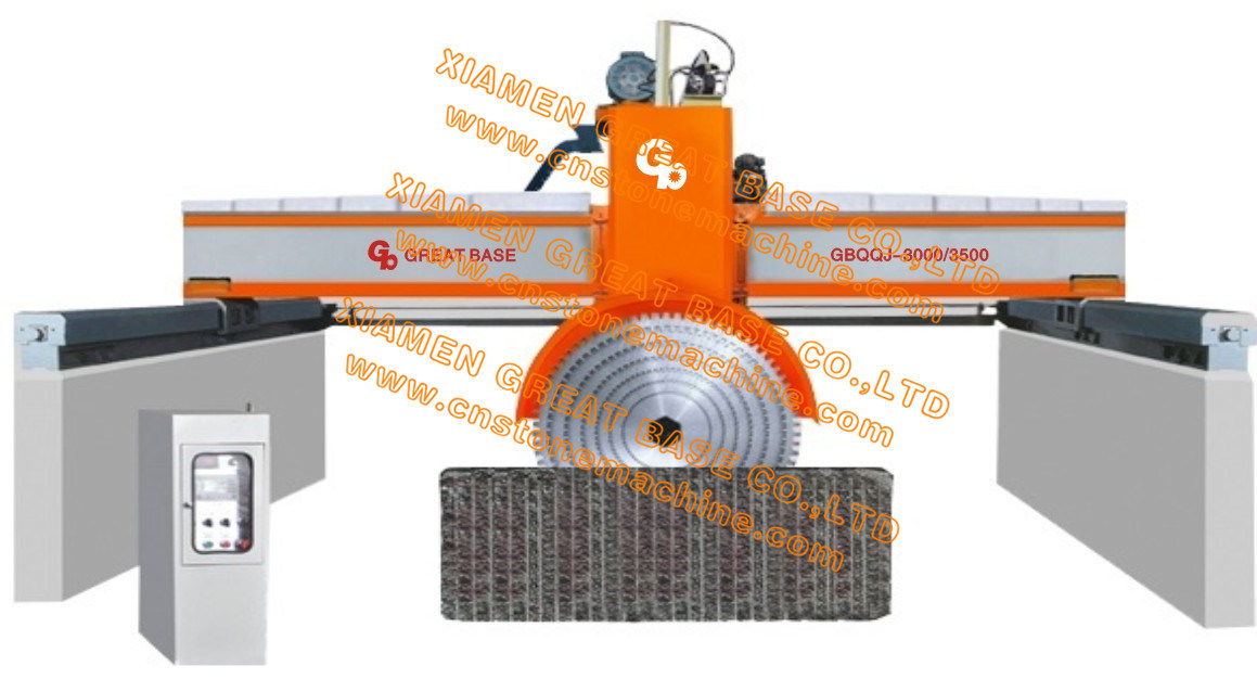 GBQQJ-3500 Bridge Type Hydraulic up and Down Stone Cutting Machine