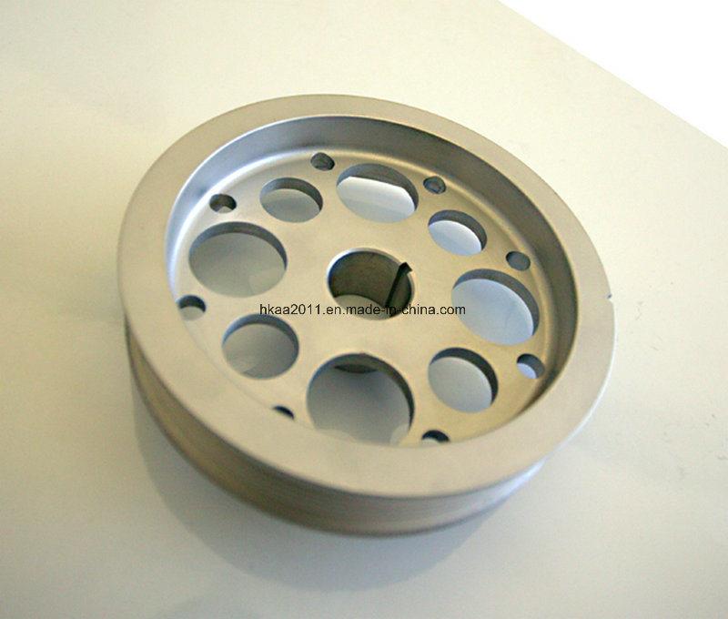 Custom Machining Aluminum Crankshaft Damper Pulley