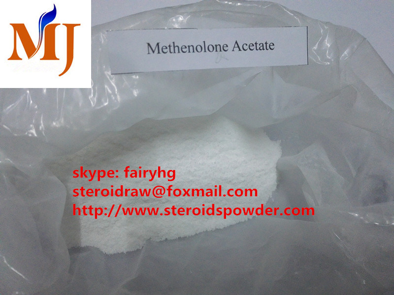 Top Quality Steroid Raw Powder Methenolone Acetate