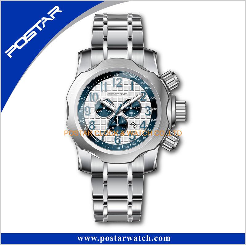 Stainless Steel Case Watch Existing Mold Wrist Watch Shenzhen Factory
