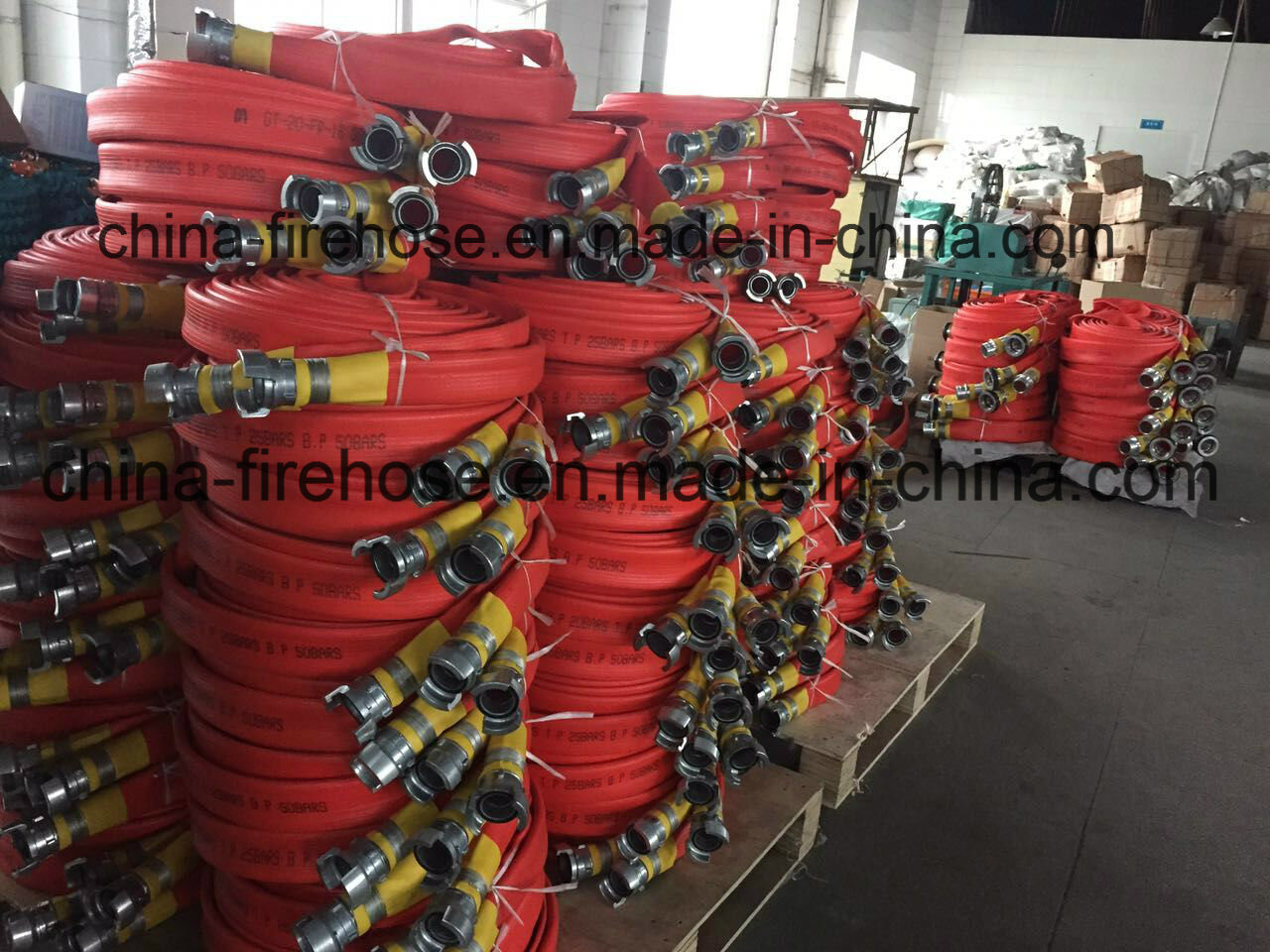 3 Inch *13 Bar*30MPVC Fire Hose with Storz Coupling