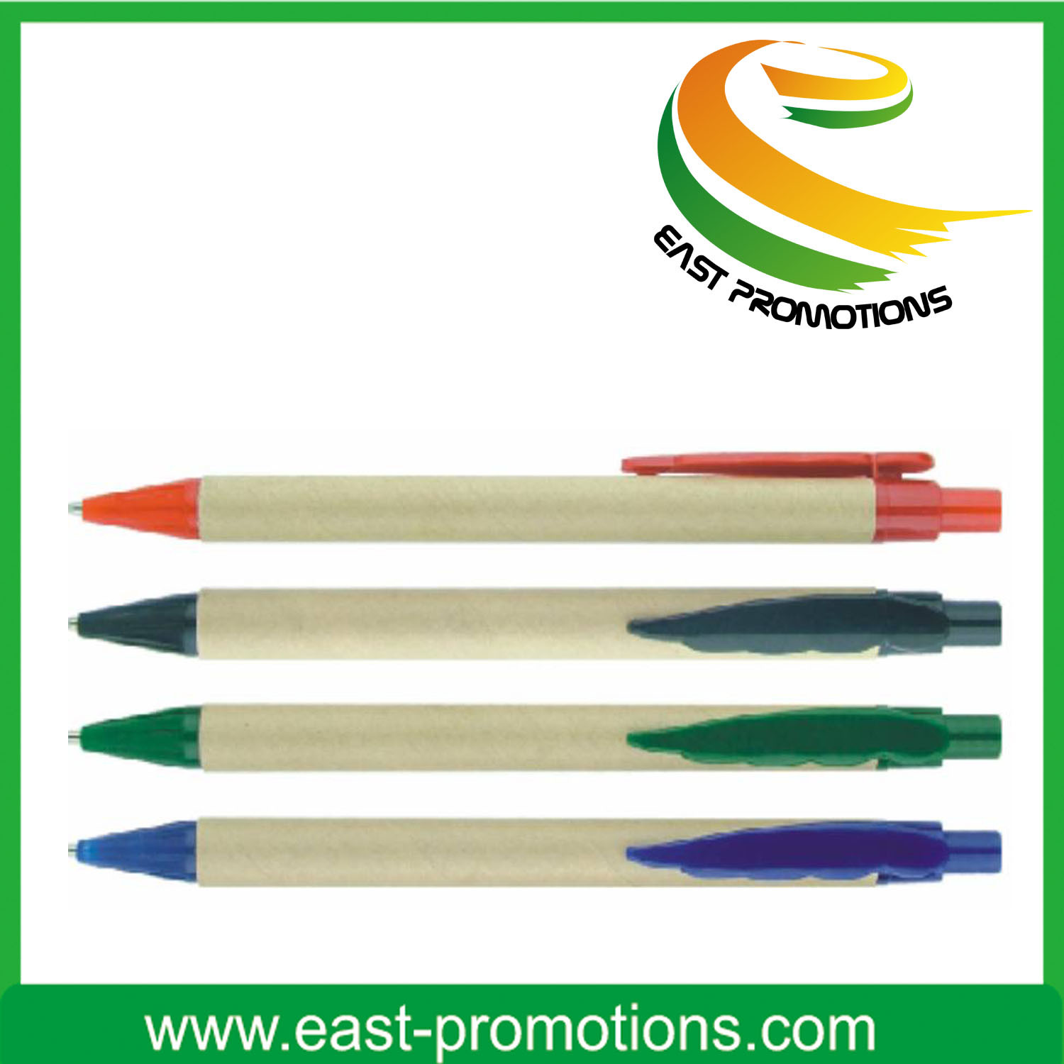 Eco-Friendly Recoverable Paper Ball Pen