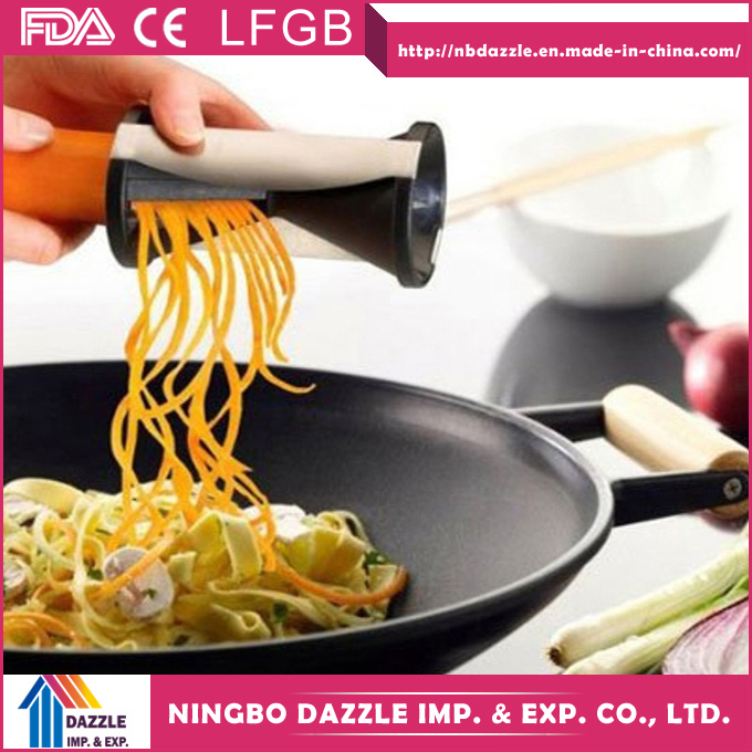 Interchangeable Stainless Steel Blade Vegetable Spiral Slicer