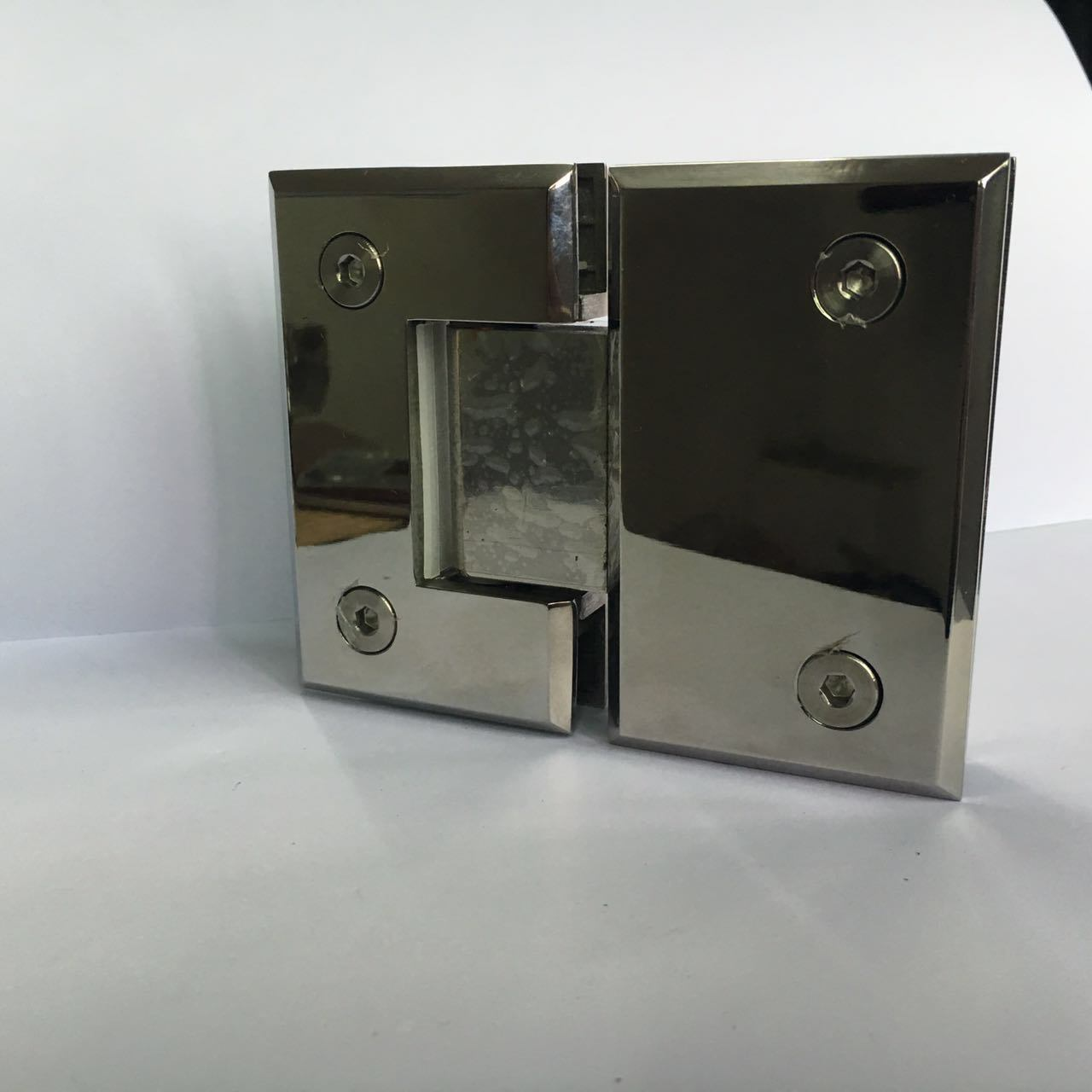 Double Cylinder Shower Hinge Glass Fitting (CR-Y04-T)