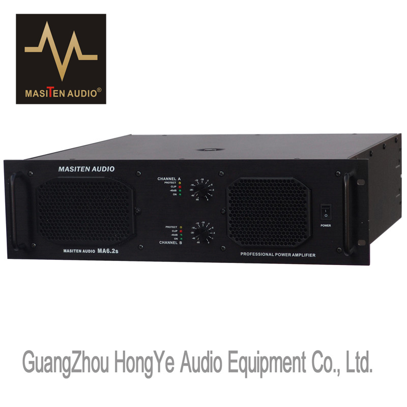 Ma6.2s 1250W Professional Audio Amplifier