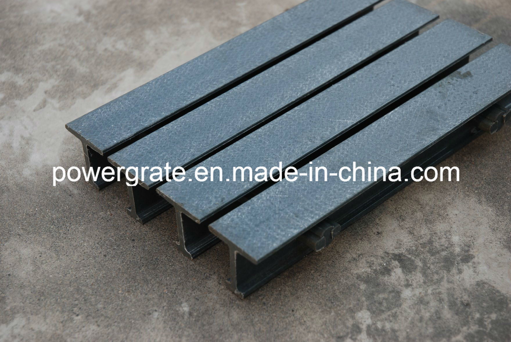 Fiberglass Pultruded Grating / FRP GRP Grating