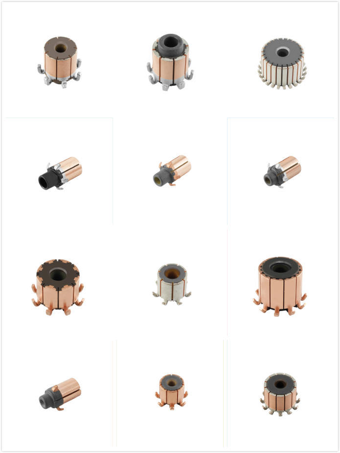 Best-Selling Commutator for Auto Parts with Car Motors (8 Hooks)