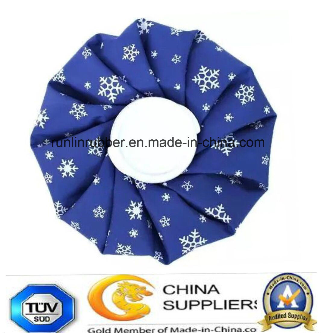 Colour Resuable Fabric Ice Cooler Bag for Hot Cold Therapy