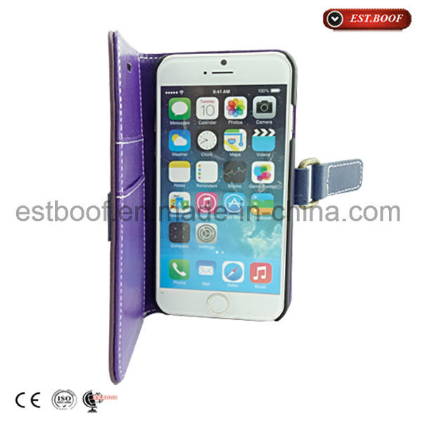 Leather PC Mobile Phone Case for iPhone 6/6plus /7/7plus
