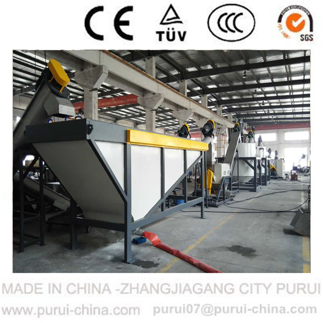 Waste Pet Flakes Recycling Washing Machine (1000kg/hr)