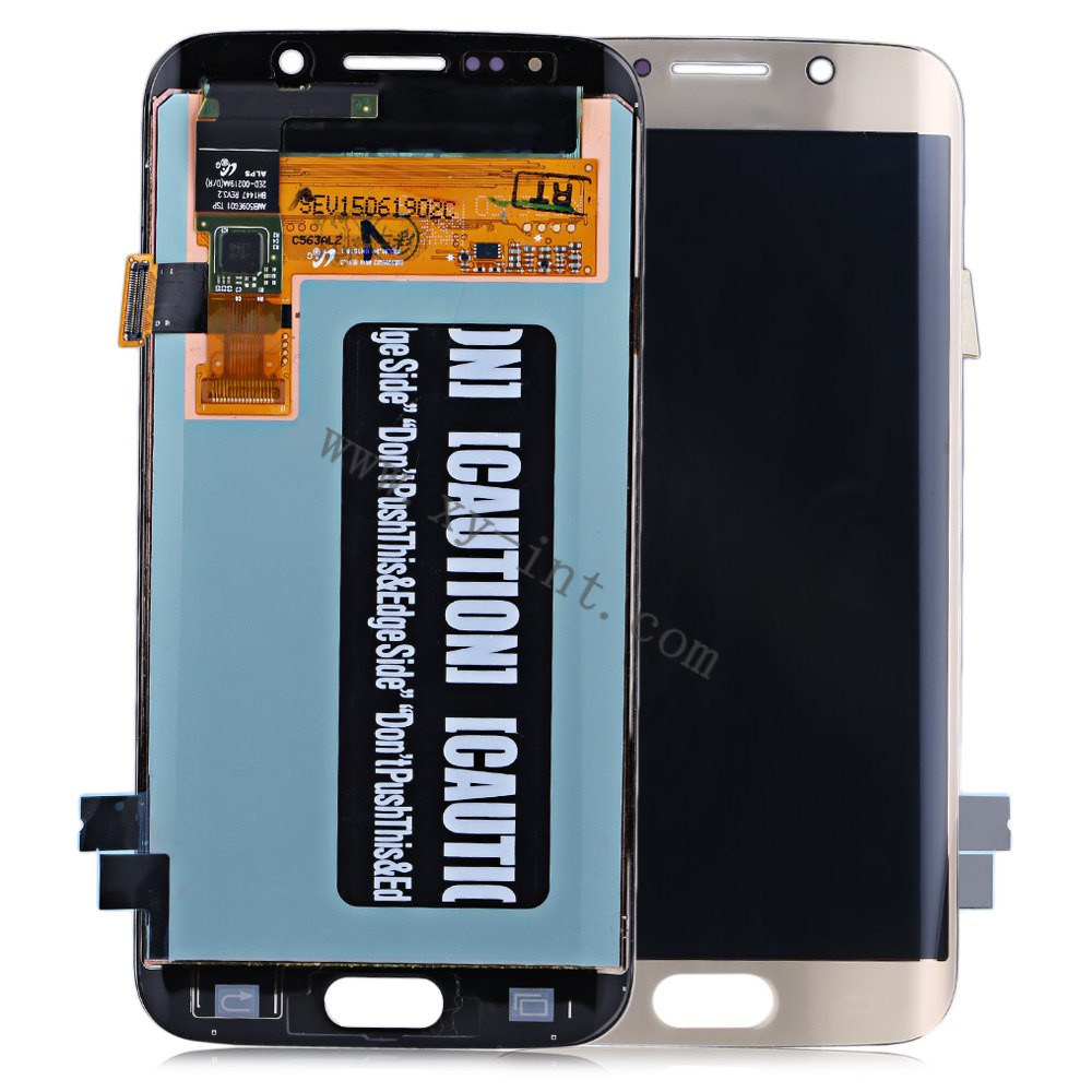 Mobile Phone LCD Digitizer Spare Parts for Samsung S3 S4 S5 S6 S7 Edge
