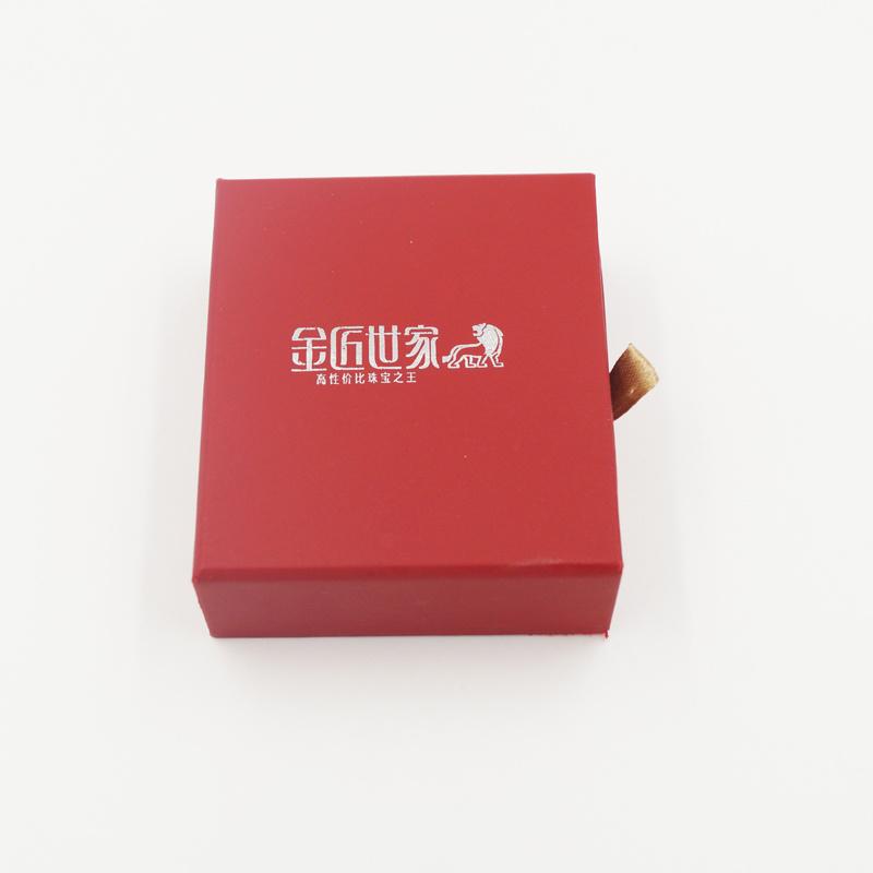 Shenzhen Manufacturer Offset Paper White Card Paper Drawer Box (J64-B1)