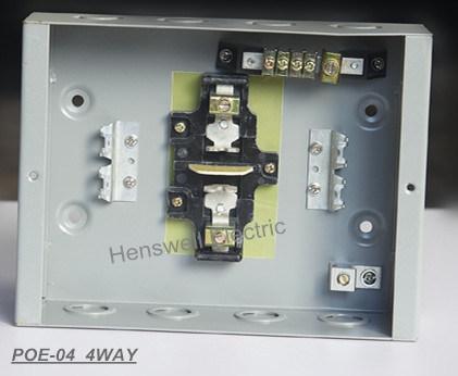 4 Way Plug in Type Distribution Board