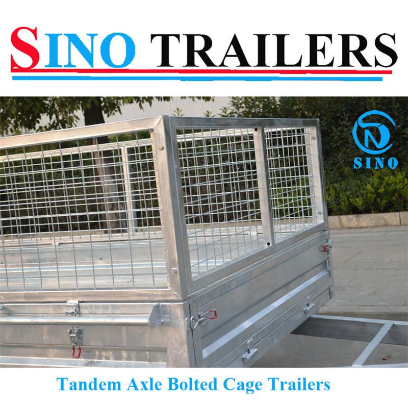 10X6 ATV Box Tandem Flatbed Trailers