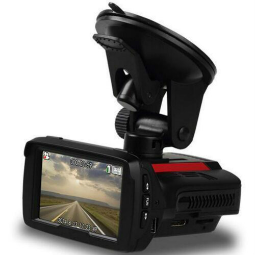 Full HD 1296p Dash Cam with GPS Tracker
