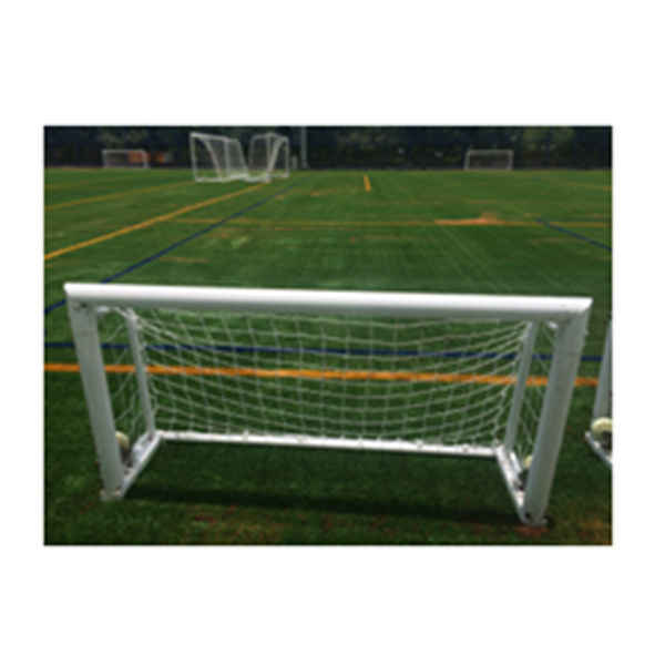 2X1m Cheap Portable Mini Practice Aluminum Soccer Goal with Wheels