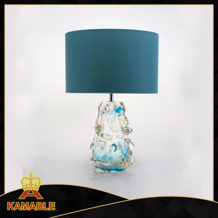 Modern Hotel Decoration Hand Blown Art Murano Glass Table Lamp (KA5105T)