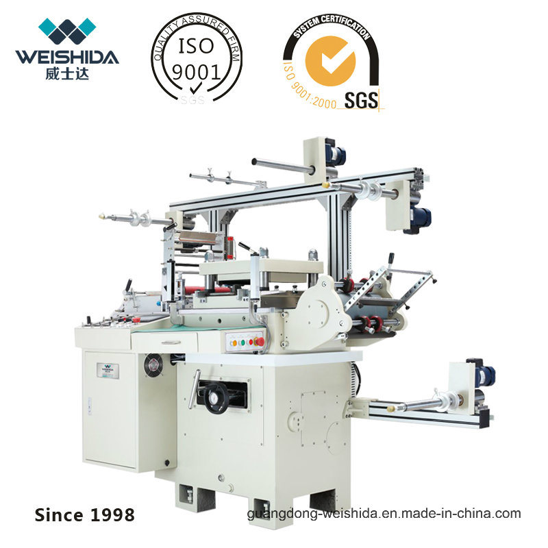 Was350 CNC Double-Servo Hi-Speed Automatic Die Cutting Machine