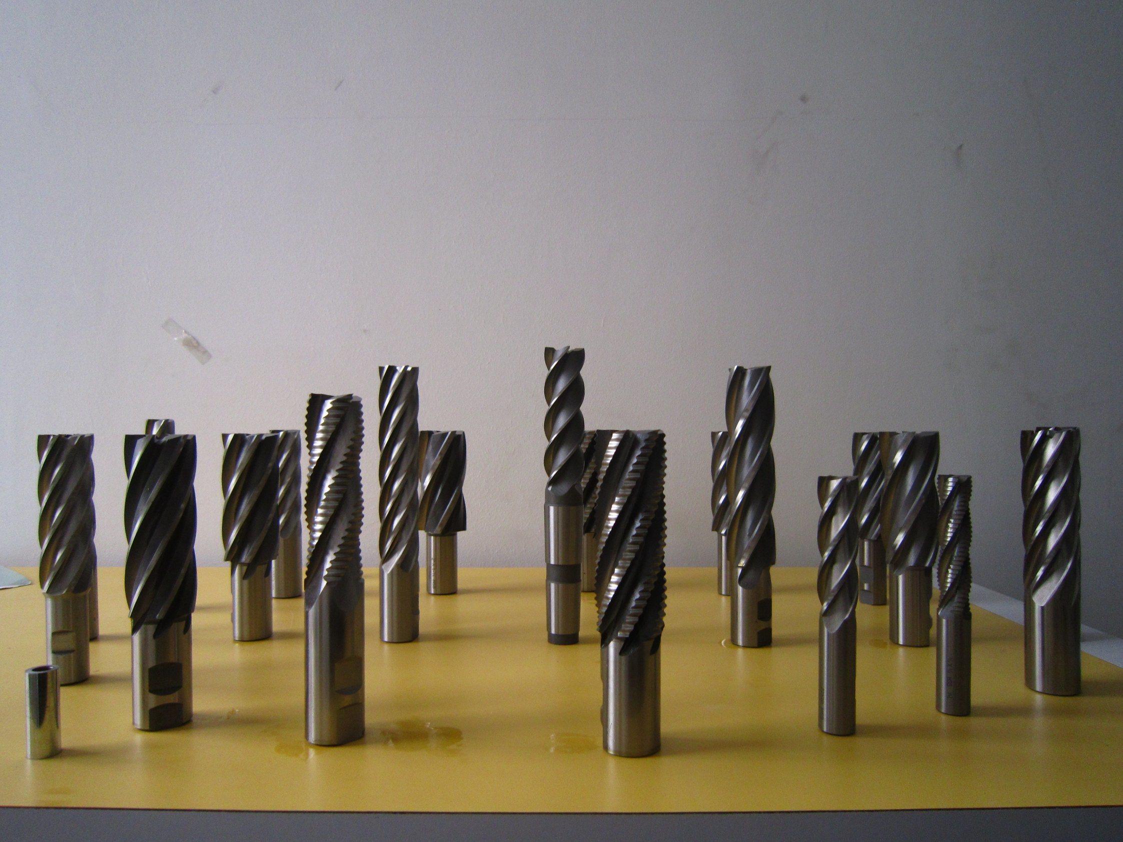4 Flute Single End Mill