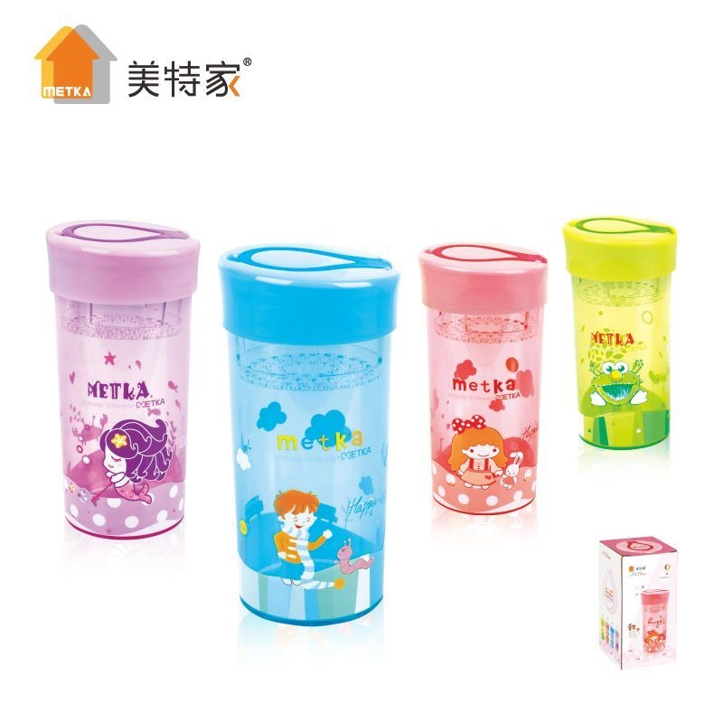 Metka Household Plastic Hardcover Casual Portable Water Cup 350ml