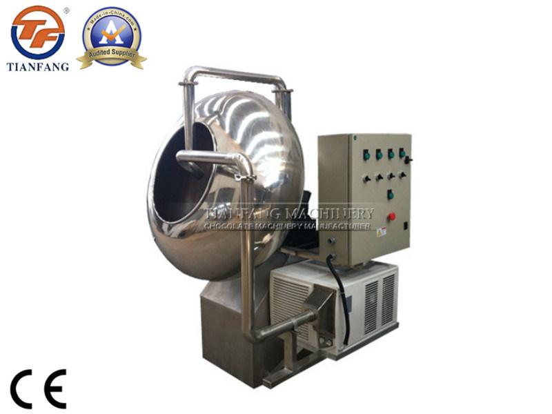 Chocolate Polishing Machine with Cooling