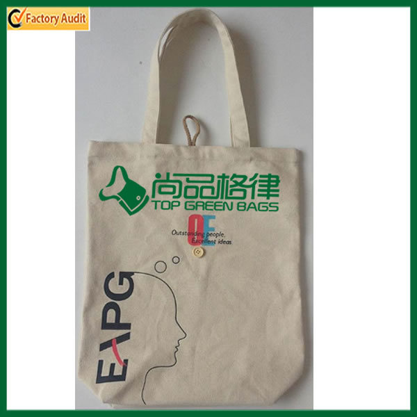 Heavy Duty Canvas Shopping Tote Cotton Bag (TP-SP545)