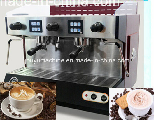 China Removable Water Tank Commercial Capsule Coffee Machines - China Automatic Double Heads ...