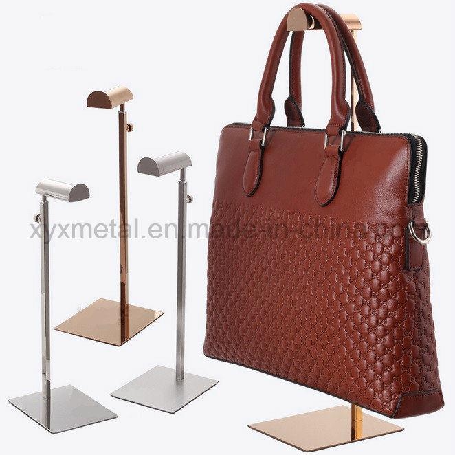 Stainless Steel Handbag Bag Hanging Rack Table Holder Display Stand