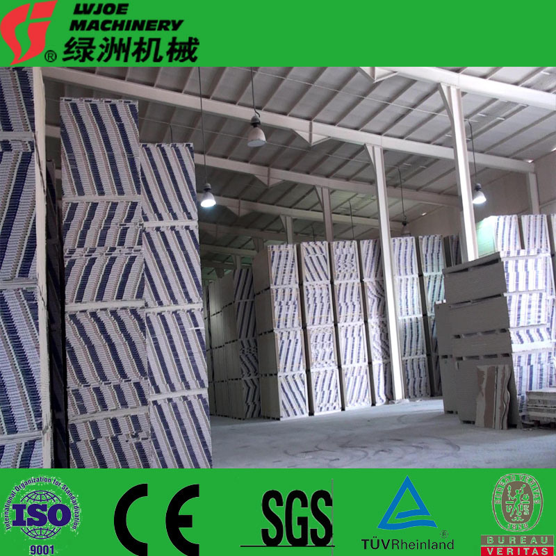 Gypsum Production Plant of Wall Board Gypsum Facility Plant