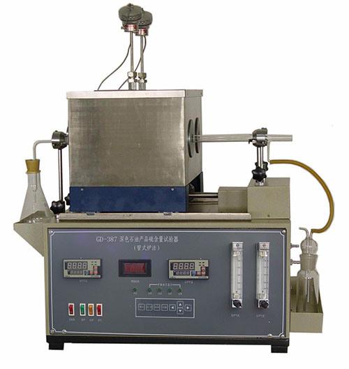 Sulphur Content Test Equipment of Dark Petroleum Products