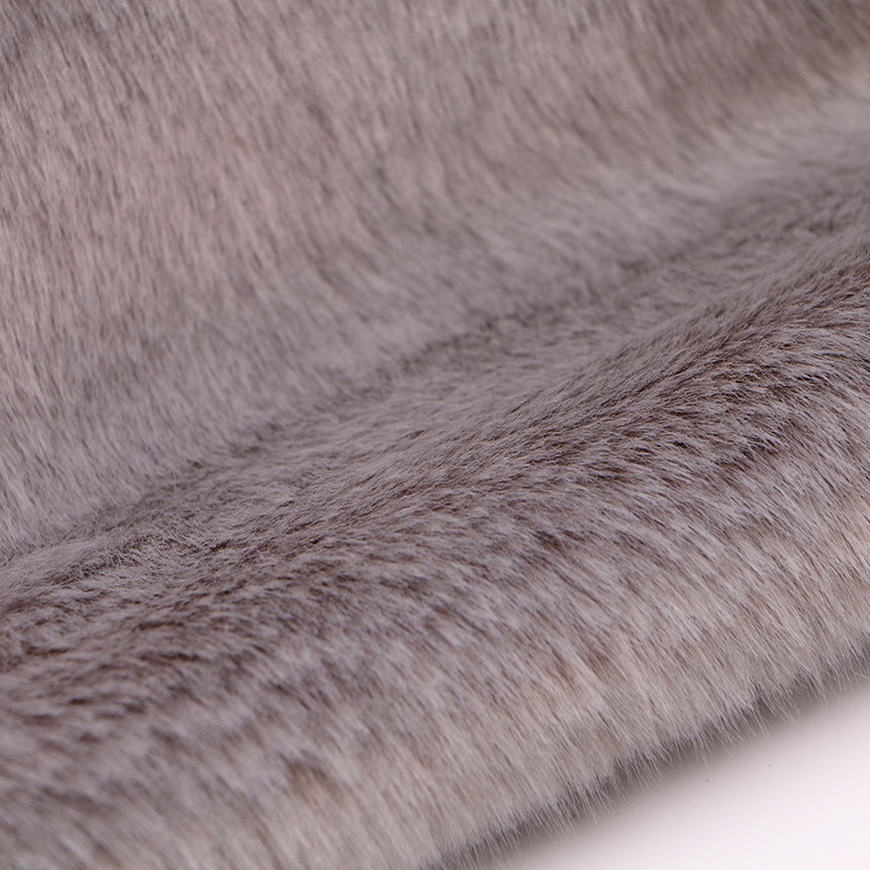 Factory Supply Fake Rabbit Fur Fabric China Supply