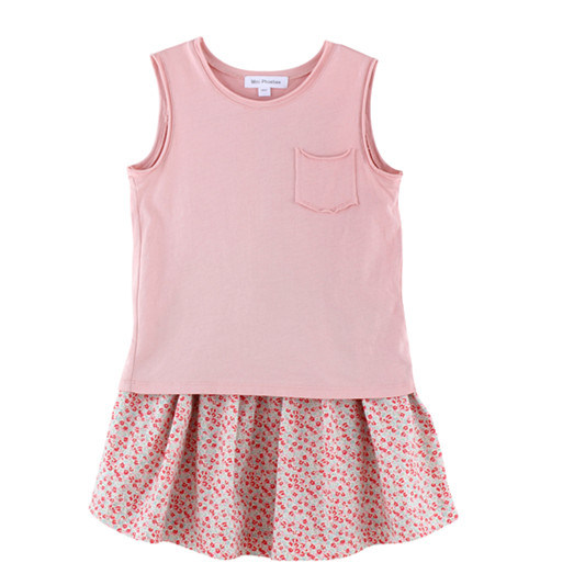 Wholesale Cotton Summer Children T-Shirt for Girls